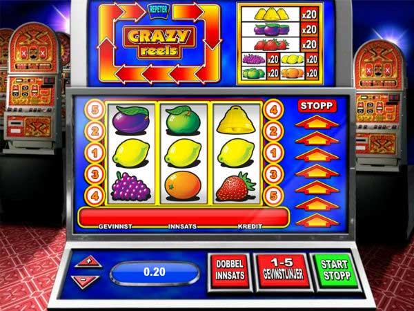 Crazy Reels spilleautomat