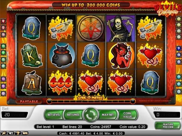 Devils Delight spilleautomat