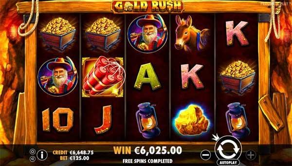 Fold Rush spilleautomat
