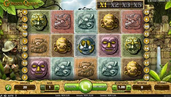 Spilleautomaten Gonzo's Quest