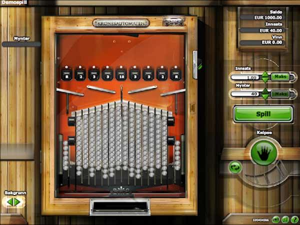 Kronesautomaten spilleautomat