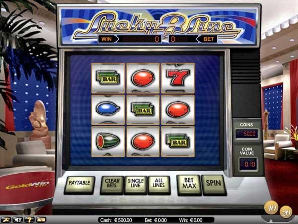 Lucky 8 Line spilleautomat