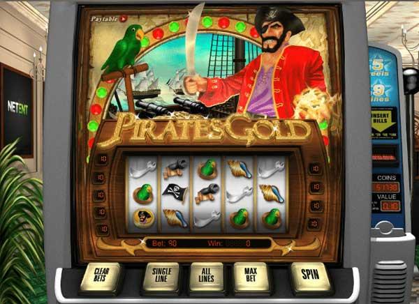 Pirates Gold spilleautomat